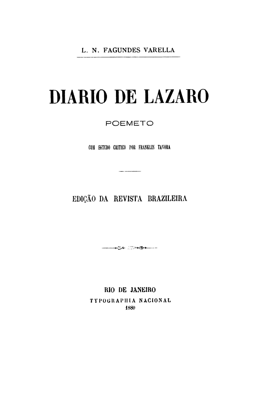 Biblioteca Brasiliana Guita e José Mindlin: Diario de
