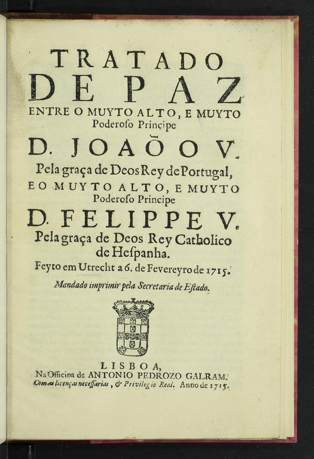 Resultado de imagem para tratado espanha e portugal 1715